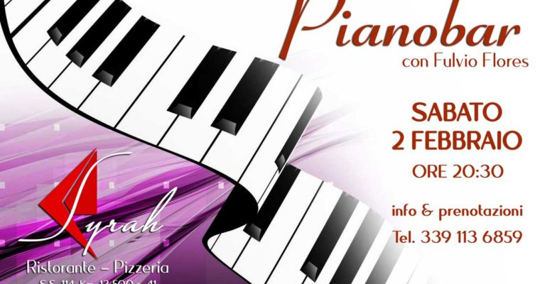 Il Pianobar del Syrah con Fulvio Flores