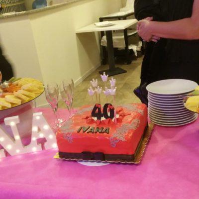 I 40 anni di Ivana